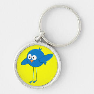 Porte-clés Le porte - clé de l'oiseau génial d'imaginaire de