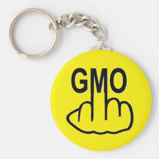 Porte-clés Le porte - clé indiquent non à GMO