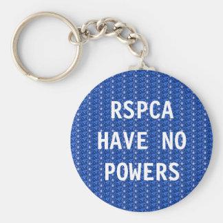 Porte-clés Le porte - clé RSPCA n'ont aucune puissance