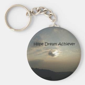 Porte-clés Le rêve d'espoir réalisent