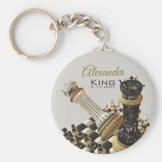 Porte-clés Le Roi Of The Board de jeu d'échecs