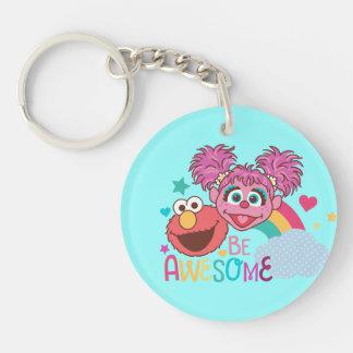 Porte-clés Le Sesame Street | Elmo et Abby - soyez