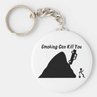 Porte-clés Le tabagisme peut vous tuer