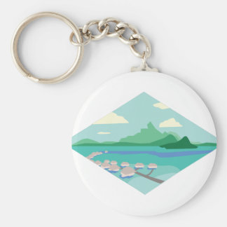 Porte-clés Le Tahiti
