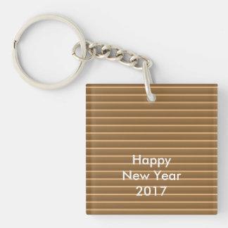 Porte-clés le TEXTE 2017 EDITable de modèle de do-it-yourself