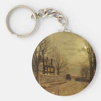 Porte-clés Le tour de la route par John Atkinson Grimshaw