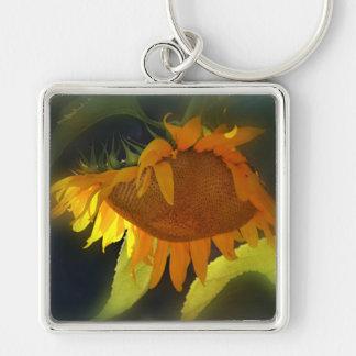 Porte-clés Le tournesol au soleil