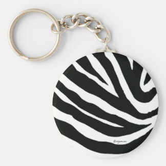 Porte-clés Le zèbre frais barre le porte - clé