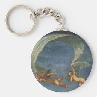 Porte-clés Les anges détaillent d'Adonis ont mené par des