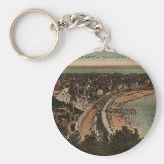 Porte-clés Les années 1920 de carte postale de la France de