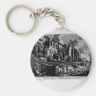 Porte-clés Les antiquités romaines, plat XXXV de T. 1 par