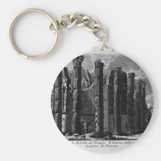 Porte-clés Les antiquités romaines, T. 1, plat XXII. Temple…