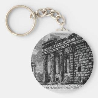 Porte-clés Les antiquités romaines, T. 1, plat XXXI. Temple