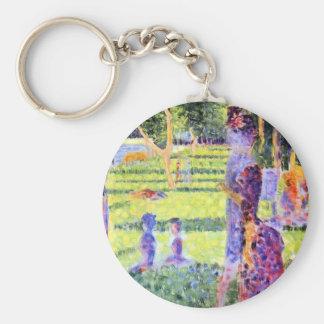 Porte-clés Les couples par Georges Seurat, Pointillism