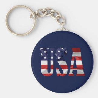 Porte-clés Les Etats-Unis patriotiques