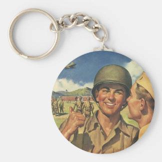Porte-clés Les héros patriotes vintages, les effectifs