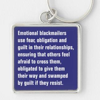 Porte-clés Les maîtres chanteurs émotifs emploient la