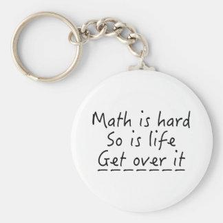 Porte-clés Les maths sont dures