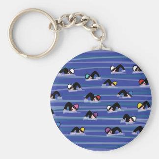 Porte-clés Les nageurs