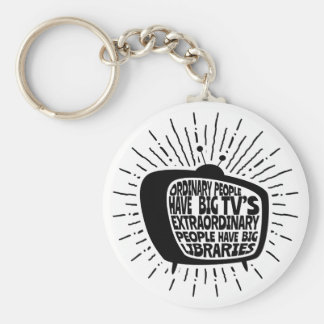Porte-clés Les personnes extraordinaires ont des