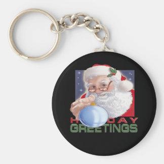 Porte-clés Les salutations de Père Noël - porte - clé
