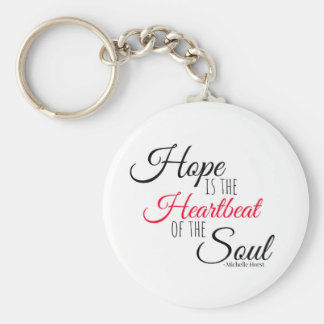 Porte-clés L'espoir est les porte - clés de battement de