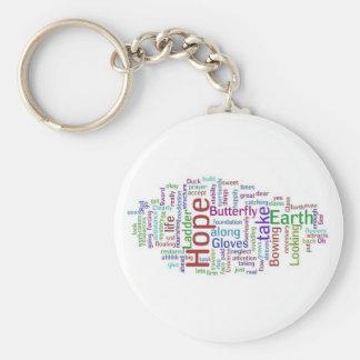 Porte-clés L'espoir flotte le porte - clé