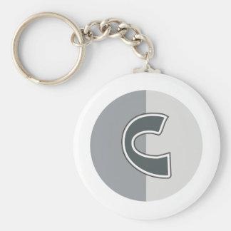 Porte-clés Lettre C