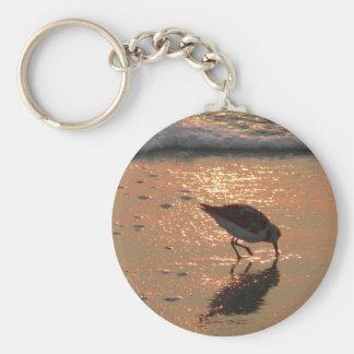 Porte-clés lever de soleil de bécasseau