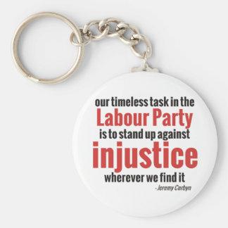 Porte-clés Levez-vous contre l'injustice