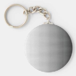 Porte-clés L'image tramée s'est fanée grille