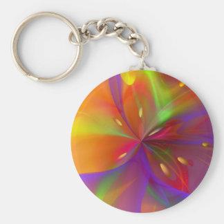 Porte-clés Lis brillant