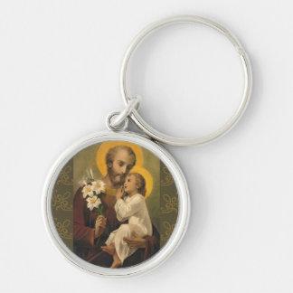 Porte-clés Lis de Jésus de bébé de St Joseph