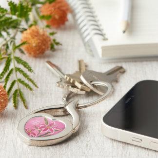 Porte-clés Lis de Valentine