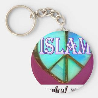 Porte-clés L'Islam est paix et amour et bonheur