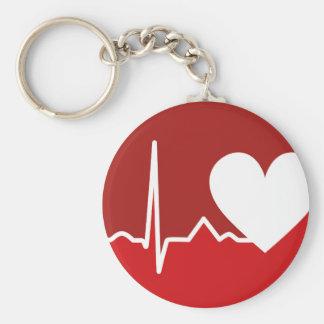Porte-clés Logo de coeur