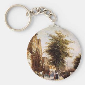 Porte-clés Lombard Voorburgwal Amsterdam par Cornelis