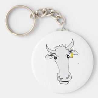 Porte-clés longue vache