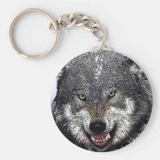 Porte-clés Loup sauvage