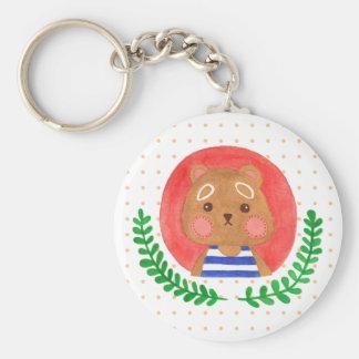 Porte-clés L'ours mignon