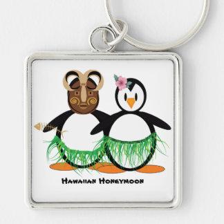 Porte-clés Lune de miel hawaïenne