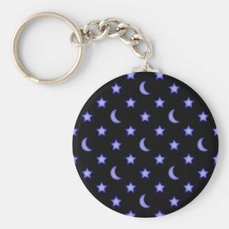 Porte-clés Lunes et profil sous convention astérisque