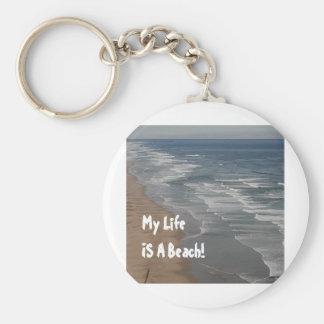 Porte-clés Ma vie EST une plage ! Porte - clé