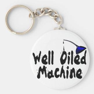 Porte-clés Machine bien huilée