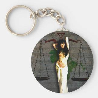 Porte-clés Madame Justice