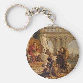 Porte-clés Maecenas présentant les arts libéraux à l'empereur
