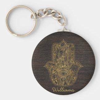 Porte-clés Main de HAMSA de conception d'amulette de symbole