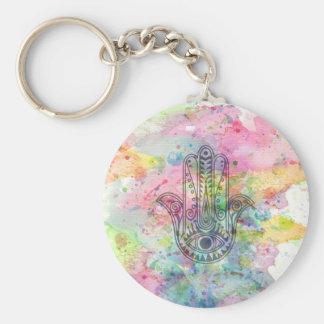 Porte-clés Main de HAMSA de symbole de Fatima