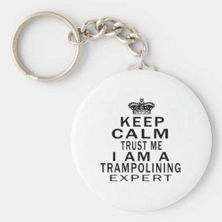 Porte-clés Maintenez calme pour me faire confiance que je