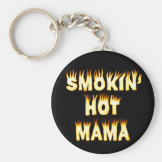 Porte-clés Maman chaude Funny Mother Flames de Smokin